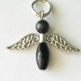 Onyx Angel Pendant