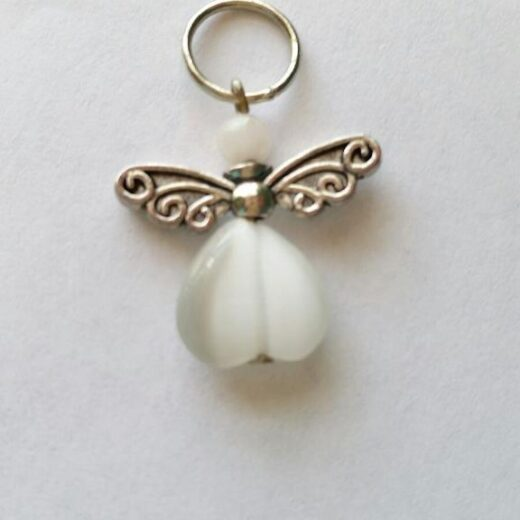 Moonstone Angel Pendant